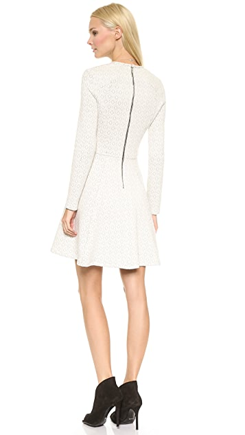 Cut25 by Yigal Azrouel Fit and Flare Dress