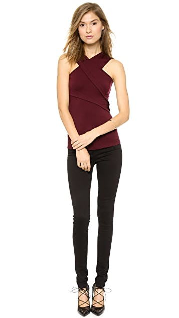 Cut25 by Yigal Azrouel Asymmetrical Pleated Top