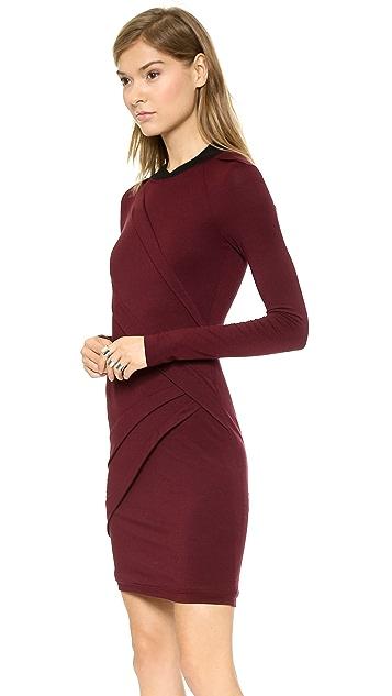 Cut25 by Yigal Azrouel Asymmetrical Pleated Dress