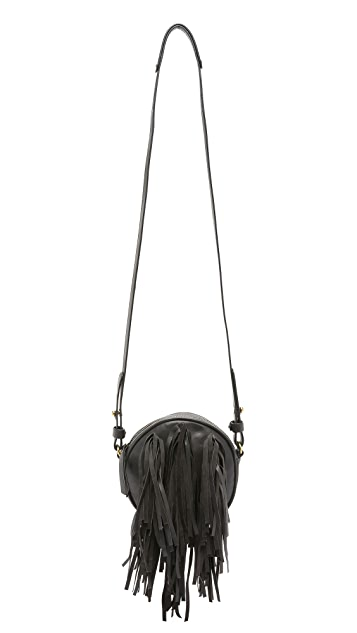 Cynthia Vincent Handbags Dacia Fringe Cross Body Bag