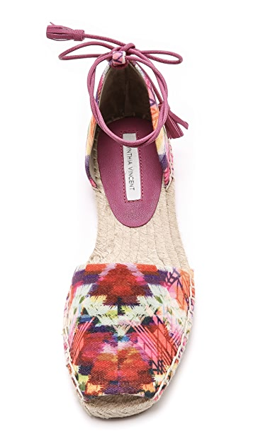 Cynthia Vincent Farie d'Orsay Espadrilles