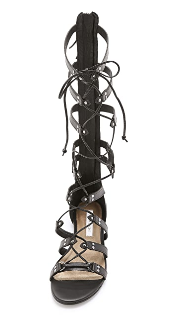 Cynthia Vincent Franky Tall Gladiator Sandals