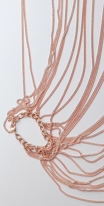 Cornelia Webb Draped Chain Bolero