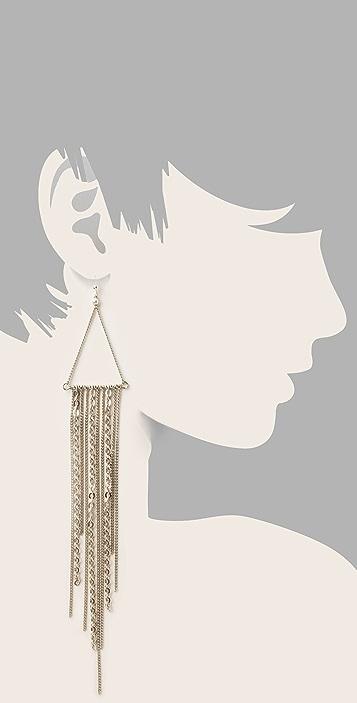 Cornelia Webb Fringed Delicate Earrings