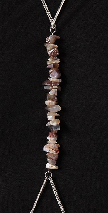 Cornelia Webb Stoned Body Chain w/natural stones