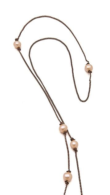 Cornelia Webb Pearled Dropped Necklace