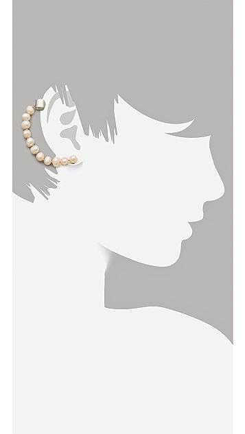 Cornelia Webb Pearl Ear Piece