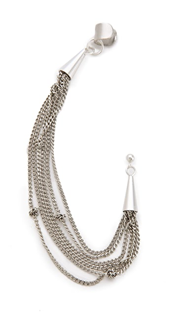 Cornelia Webb Knotted Draped Ear Piece