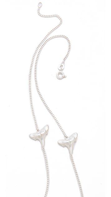 Cornelia Webb Bite Me Twice Necklace