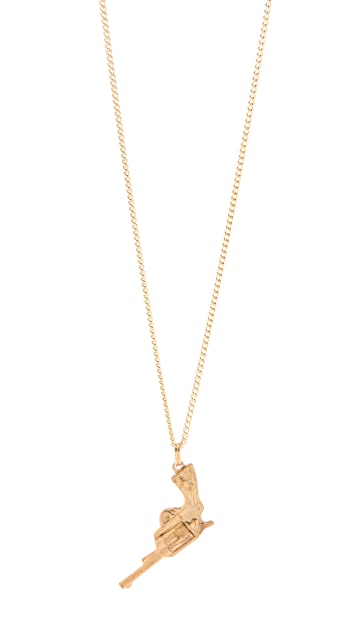 Cornelia Webb Pistol Necklace