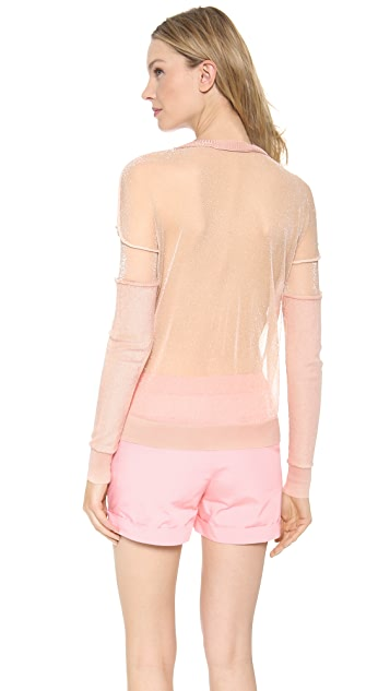 Creatures of the Wind Sheer Back Sweatshirt Pullover