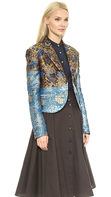 Creatures of the Wind Crambe Jacket with Butterflies