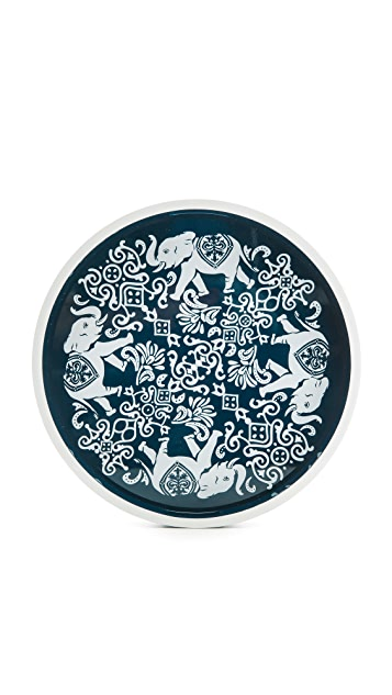 C. Wonder Elephant Medallion Lacquer Tray