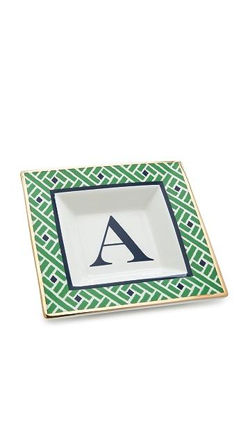 C. Wonder Monogram Square Plate