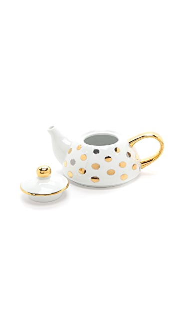 C. Wonder Ikat Polka Dot Tea for One