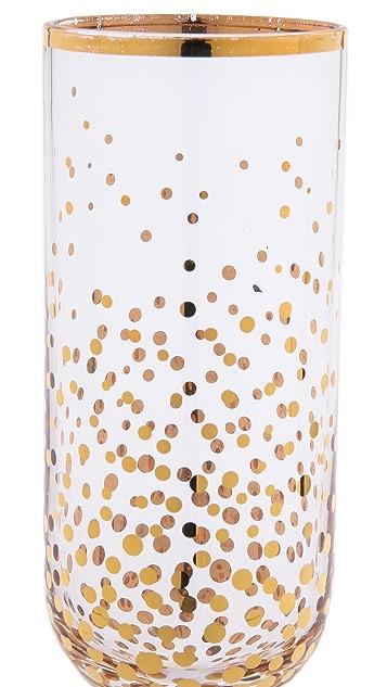 C. Wonder Бокалы для шампанского с рисунком в виде пузырьков