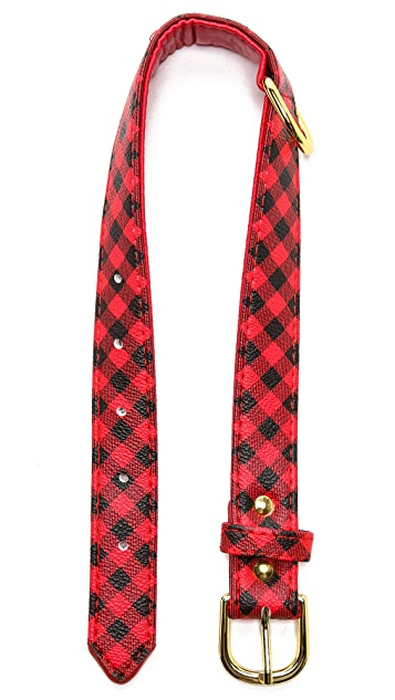 C. Wonder Buffalo Check Dog Collar