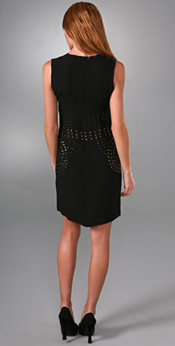 Cynthia Rowley Studded Shift Dress