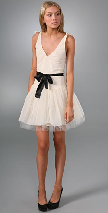 Cynthia Rowley Tulle Dress