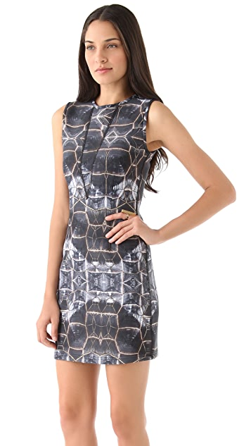 Cynthia Rowley Sleeveless Bonded Dress