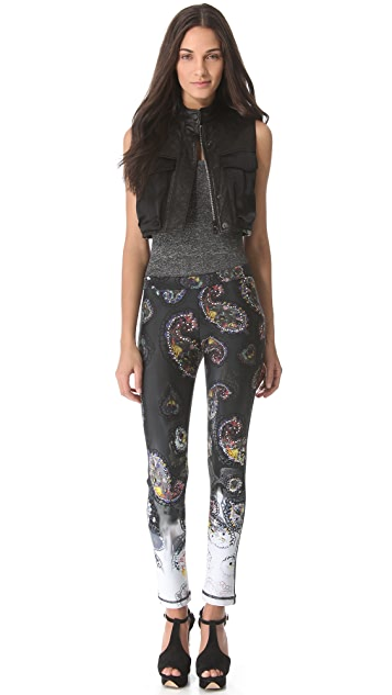Cynthia Rowley Bonded Leggings