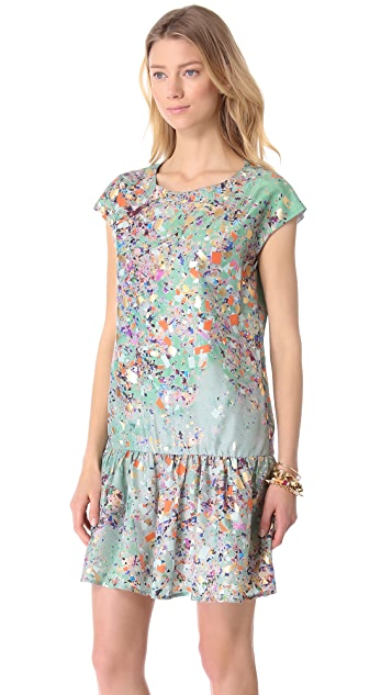 Cynthia Rowley Confetti Drop Waist Dress