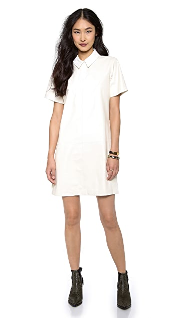 Cynthia Rowley Combo Polo Dress