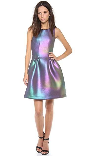 Iridescent cocktail dresses