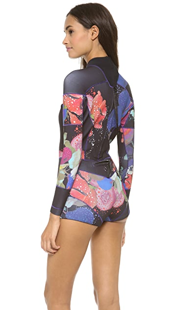 Cynthia Rowley Printed Wetsuit