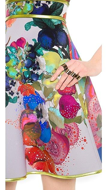 Cynthia Rowley Bonded Full Skirt Dress