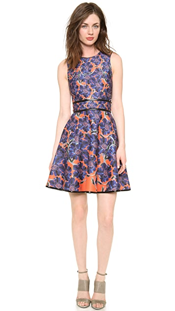 Cynthia Rowley Sleeveless Dress with Full Skirt