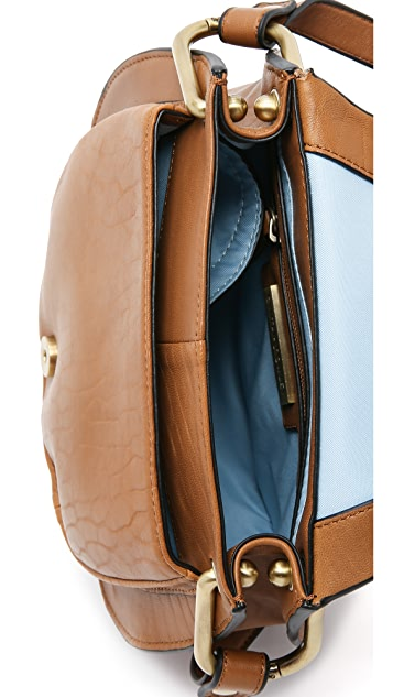 Cynthia Rowley Tabitha Cross Body Saddle Bag