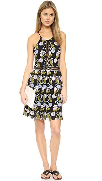 Cynthia Rowley Floral Lace Dress
