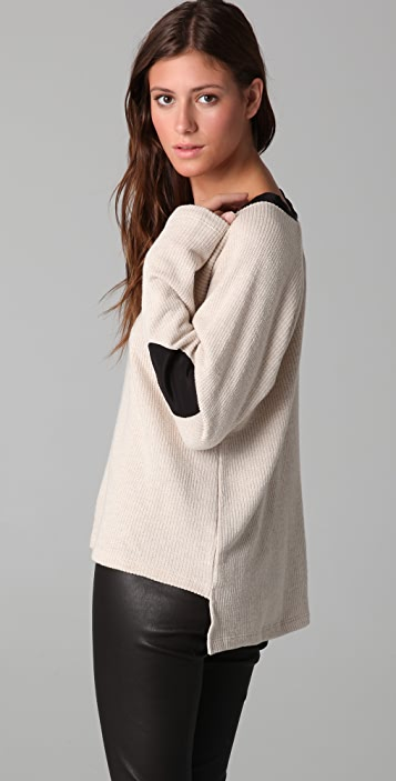 Daftbird Pullover with Elbow Patches