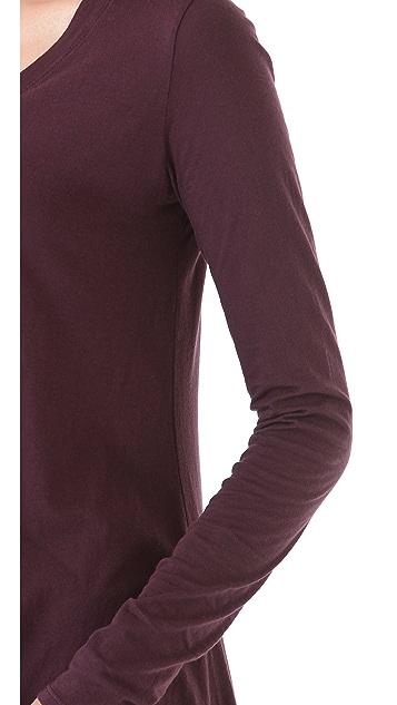Daftbird Angle V Tee with Long Sleeves
