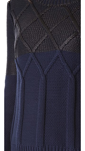 Dagmar Tomasia Foil Knit Pullover