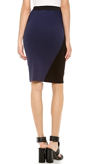 Dagmar Roxanne Colorblock Pencil Skirt