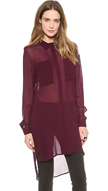 Dagmar Jakki Long Shirt