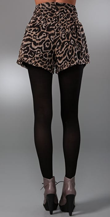 Dallin Chase Chester Animal Print Shorts