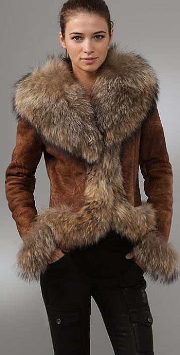 Dallin Chase Amadeus Leather Jacket with Fur