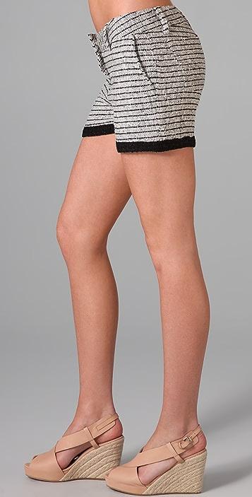Dallin Chase Boucle Shorts