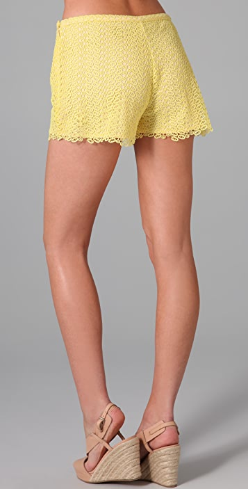 Dallin Chase Cale Lace Shorts