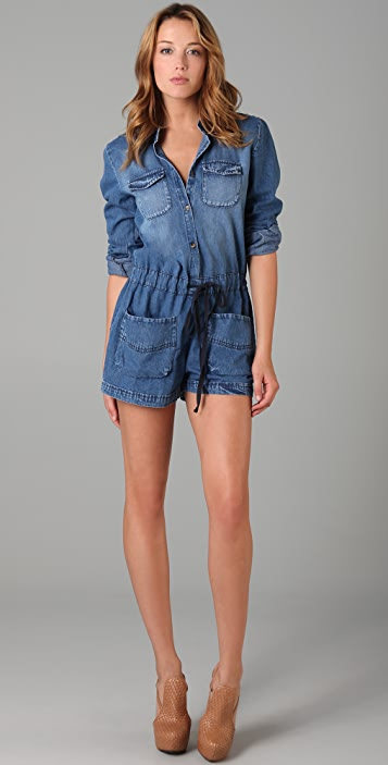 Dallin Chase Fieldston Denim Romper