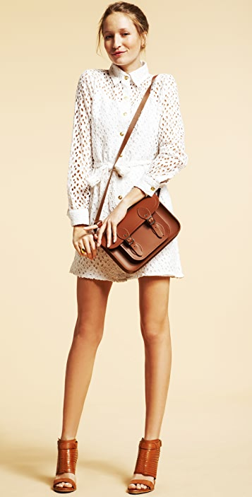 Dallin Chase Uli Eyelet Shirtdress