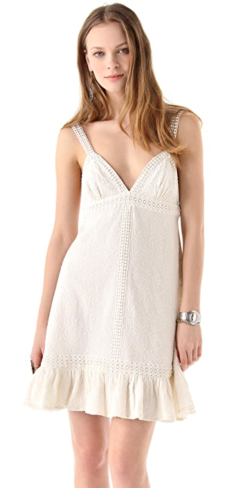 Dallin Chase Embroidered Dani Dress