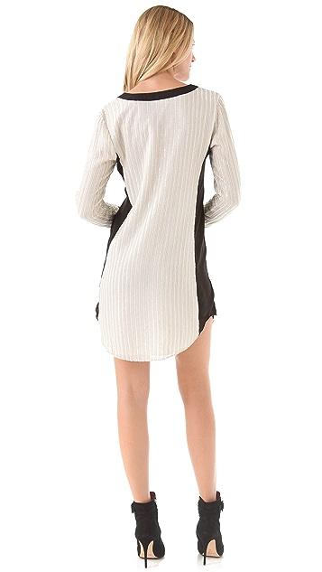 Dallin Chase Fakundo Sequin Shirtdress