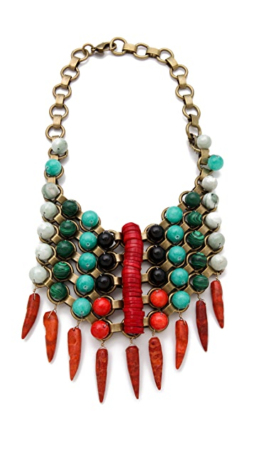 DANNIJO Kiedis Bib Necklace