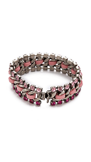DANNIJO Breast Cancer Awareness Vika Bracelet