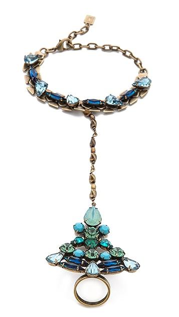 DANNIJO Leandra Hand Chain Bracelet