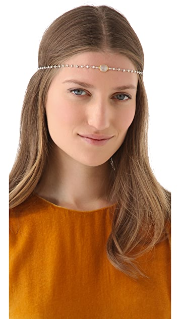 Dauphines of New York April Birthday Party Headband